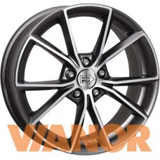 1000 Miglia MM035 8x18/5x112 D66.6 ЕТ39 Anthracite Polished