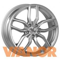 1000 Miglia MM039 8x18/5x112 D66.5 ЕТ39 Silver Gloss