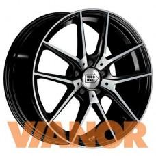 1000 Miglia MM041 6.5x16/5x112 D57.1 ЕТ42 Black Polished