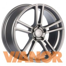 1000 Miglia MM1002 8x18/5x112 D66.6 ЕТ35 Matt Silver Polished