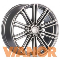 1000 Miglia MM1005 7.5x17/5x108 D63.3 ЕТ40 Dark Anthracite Polished