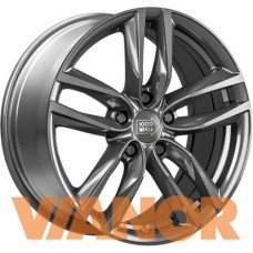 1000 Miglia MM1011 7x16/5x112 D57.1 ЕТ42 Dark Anthracite High Gloss