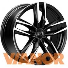 1000 Miglia MM1011 7x16/5x112 D57.1 ЕТ42 Gloss Black Polished