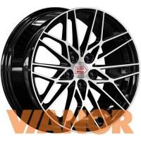 1000 Miglia MM1015 8x18/5x108 D63.3 ЕТ45 Gloss Black Polished