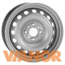 Alcar Stahlrad 4925 4.5x14/4x100 D56.6 ЕТ43.5 Серебристый