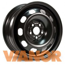 Alcar Stahlrad 8114 6x15/4x100 D54.1 ЕТ48 Черный
