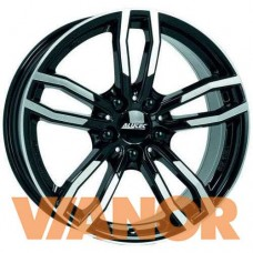 Alutec Drive 8x17/5x120 D72,6 ЕТ34 Diamond Black Front Polished