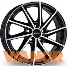 Alutec Singa 6x15/4x100 D56.6 ЕТ39 Diamond Black Front Polished
