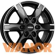 Alutec Titan 7x16/6x114.3 D66.1 ЕТ45 Diamond Black Front Polished