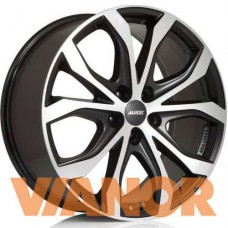 Alutec W10 8x18/5x127 D71,6 ЕТ53 Racing Black Front Polished