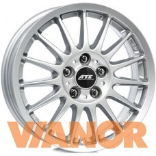 ATS StreetRallye 6x16/4x100 D63.3 ЕТ35 Polar Silver