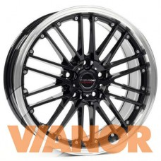 Borbet CW 2 7x17/5x114.3 D72.6 ЕТ40 Black Rim Polished