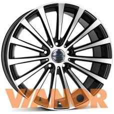 Borbet Design BLX 8,5x18/5x112 D72,6 ЕТ30 Black Polished Matt