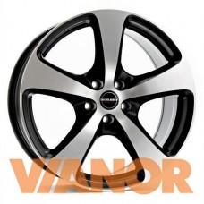 Borbet Design CC 8.5x18/5x130 D71.6 ЕТ50 Black Polished Matt