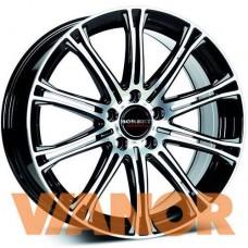 Borbet Design CW 1 7x17/5x114.3 D72,6 ЕТ40 Black Polished