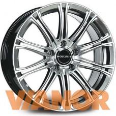 Borbet Design CW 1 8x17/5x120 D72.6 ЕТ35 Hyper Silver