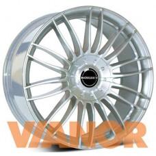 Borbet Design CW 3 10,5x21/5x120 D72,6 ЕТ35 Sterling Silver