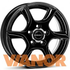 Borbet Design TL 5x14/5x100 D57.1 ЕТ35 Black Glossy