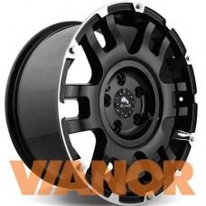 Buffalo BW-004 9x20/6x139.7 D106.1 ЕТ0 Gloss Black Machined Face