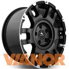Buffalo BW-004 8.5x18/6x139.7 D106.1 ЕТ25 Matte Black