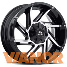 Buffalo BW-422 9x20/5x150 D110.1 ЕТ35 Gloss Black Machined Face