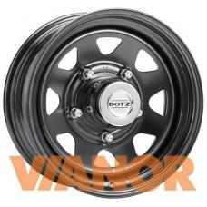 Dotz Dakar 6x15/5x139.7 D110.1 ЕТ0 Черный