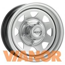 Dotz Dakar 6x15/5x139.7 D110.1 ЕТ0 Серебристый