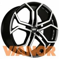 Fondmetal 9XR 10x22/5x130 D71,6 ЕТ50 Black Glossy Machined
