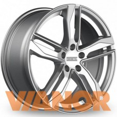 Fondmetal Hexis 8.5x19/5x112 D57.1 ЕТ32 Glossy Silver