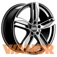 Fondmetal Hexis 8x18/5x112 D57.1 ЕТ48 Titanium Glossy Machined