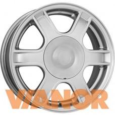 КиК КС576 5.5x14/4x100 D60.1 ЕТ43 Сильвер