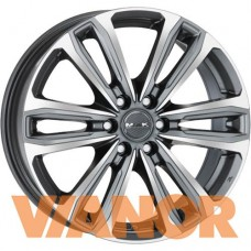 MAK Safari 6 7.5x17/6x139.7 D100.1 ЕТ33 Gunmetal Mirror Face