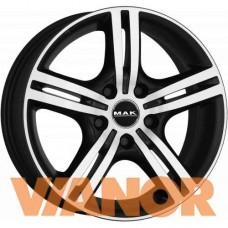 MAK Velocity 7.5x17/5x114.3 D76.1 ЕТ40 Ice Black