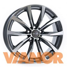 MAK Wolf 6,5x16/5x112 D57,1 ЕТ33 Gunmetal Mirror Face