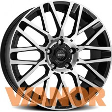 Momo Revenge 7x17/4x108 D65.1 ЕТ25 Matt Black Polished