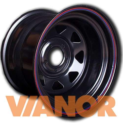 Диски ORW 56 7x16/5x139.7 D98.6 ЕТ25 Черный в Уфе