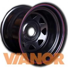 ORW 73B 8x15/5x139.7 D110.1 ЕТ-25 Черный