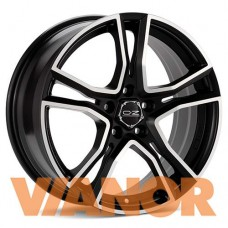OZ Racing ADRENALINA 8x17/5x108 D75.1 ЕТ38 Matt Black Diamond Cut