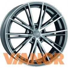 OZ Racing ENVY 7.5x16/5x105 D56.6 ЕТ35 Matt Silver Tech Diamond Cut