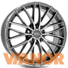 OZ Racing ITALIA 150 8x17/5x120 D79 ЕТ45 Matt Dark Graphite Diamond Cut