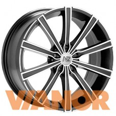 OZ Racing LOUNGE 10 7.5x17/5x112 D75.1 ЕТ50 Matt Black Diamond Cut