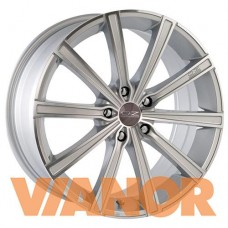 OZ Racing LOUNGE 10 7.5x17/5x112 D75.1 ЕТ50 Metal Silver Diamond Cut