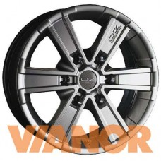 OZ Racing OFF-ROAD 6 7x16/6x127 D78.1 ЕТ35 Metal Titanium
