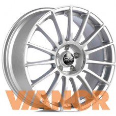 OZ Racing SUPERTURISMO LM 7.5x18/5x100 D68 ЕТ48 Matt Race Silver Black Lettering
