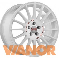 OZ Racing SUPERTURISMO WRC 6x14/4x100 D68 ЕТ36 White Red Lettering