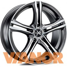 OZ Racing X5B 7.5x17/5x120 D79 ЕТ47 Matt Graphite Diamond Cut