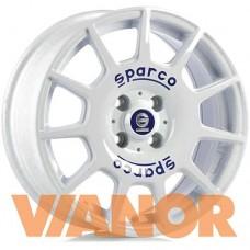 Sparco TERRA 7x16/5x112 D73.1 ЕТ35 White Blue Lettering