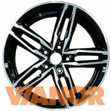 Vector B138 7x17/5x114.3 D67.1 ЕТ40 Алмаз черный