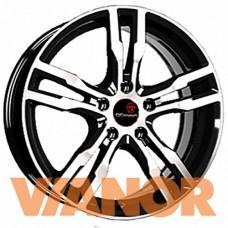 Vector B192 7x17/5x114.3 D67.1 ЕТ40 Алмаз черный