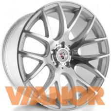 Vissol V-001 8.5x18/5x100 D57.1 ЕТ35 Silver Cut